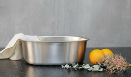 Incroma Stainless Steel Dishpan Basin Dish Washing Bowl Bucket Basket Tub image 5