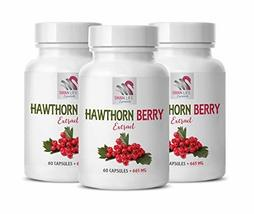 Blood Flow Supplement - Hawthorn Berry Extract 665MG - Keyword2 - SWAN L... - $39.15