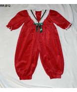 Kaluna Kids Size 4T Red Velveteen Christmas outfit - $12.99