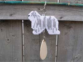 Komondor crate tag or hang anywhere, handmade b... - $25.00
