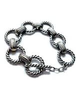 F24 Two tone metal link bracelet  - $23.51