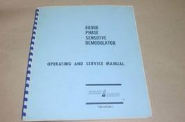 HP Hewlett Packard 8806B Phase Sensative Demodulator Operating Service Manual - $39.15
