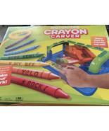 New Crayola Crayon Carver Personalized DIY Art Drawing Painting Kids Cra... - $12.60