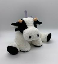 "Mary Meyer 12"" Flip Flops Lying Down Bessie Cow Stuffed Animal Plush Gin... - $9.31"