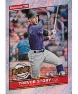 Trevor Story Donruss 2020 #H-5 Highlights Rapture Colorado Rockies - $1.25