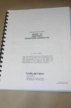 Wavetek 175 Arbitrary Waveform Generator Instruction Operating Manual - $25.43