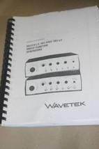 Wavetek 180/180LF Sweep Function Generator Instruction Operating Manual - $25.43