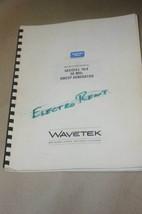 Wavetek 164 30MHz Sweep Generator Instruction Operating Manual - $25.00