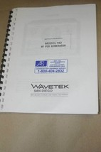 Wavetek HF VCG 142 Generator Install/Operation Manual - $24.50
