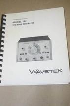 Wavetek 132 VCG Noise Generator Operating Maintenance Instruction Manual - $25.43
