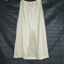 Vintage Sears The Doesnt Slip Half Slip Slit Women Size S TALL 24-26 Wai... - $14.84