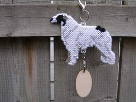 Borzoi crate tag or hang anywhere, sight hound ... - $23.00
