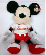 NWT Disney Mickey Mouse White Shirt Red Pants Plush Stuffed Animal 2014 ... - $25.49