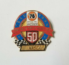VTG NASCAR 50th Anniversary Hat Pin 76 Collector Series Limited First Ed... - $14.99