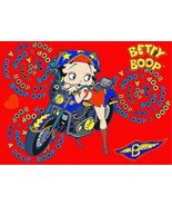Betty Boop winking Motor Cycle Biker Animated 3d Lenticular 4 x 6 inch P... - $19.33