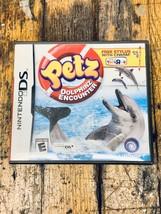 Nintendo DS Petz Dolphinz Encounter Toys R Us Exclusive OOP - $14.85