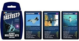 Top Trumps Ultimate Military Jets Card Game | Educational Card Games - $19.15