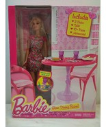 Barbie Glam Dining Room Doll Chairs Tables Accessories New in box 3+ - $27.99