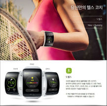Samsung Galaxy gear S SM-R750 Curved AMOLED Smart Watch Black Wi-Fi No Box image 6