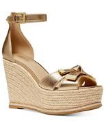MICHAEL Michael Kors Ripley Wedge Sandals Size 9.5 - $98.99
