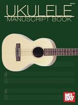 Ukulele Manuscript Book/Blank Manuscript and TAB/ - $5.99