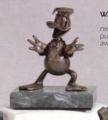 Disney Donald Duck  Bronze LE Chilmark Limited Edition of 75