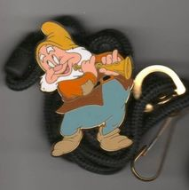 Disney Happy  from Snow White CM Lanyard Licensed Pin/Pins - $39.99