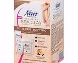 Nair Brazilian SPA Clay Total Care Body Trio Hair Remover Kit