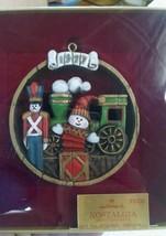 Hallmark 1977 Nostalgia Season's Greetings Ornament Snowman e59 - $7.80