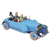 Lincoln Torpedo from Cigars of the pharaoh Voiture Tintin Cars Atlas 1/43