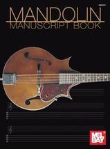 Mandolin Manuscript Book/Manuscript and TAB/ - $5.99