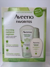 Aveeno Fave from Positively Radiant Daily Scrub & Moisturizer Set -Ex.20... - $14.35