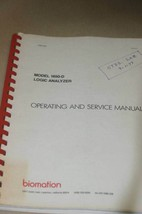Gould Biomation 1650-D Logic Analyzer Operating Users Guide Service Manual - $121.47
