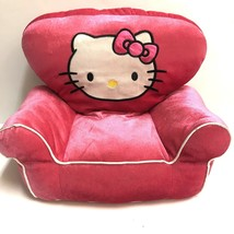 Hello Kitty x Build a Bear Pink Velour Plush Couch For Stuffed Animals - $11.88