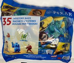 Disney Pixar Mini Toy Figures Mystery Bags, 35-pack Halloween Give Away ... - $49.50