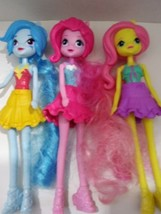 2015 Set of 3 My Little Pony Equestria Girls Basic Dolls Pinkie Pie Rain... - $24.99