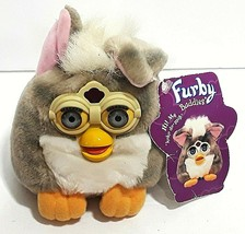 New FURBY BUDDIES 1999 Tiger Electronics MORE PLEASE Non Talking NWT Gre... - $24.66