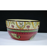 """SET(S) FOF 4 - TABLETOPS UNLIMITED ESPANA PAISLEY 6"""" SOUP/CEREAL BOWLS -... - $58.80"""