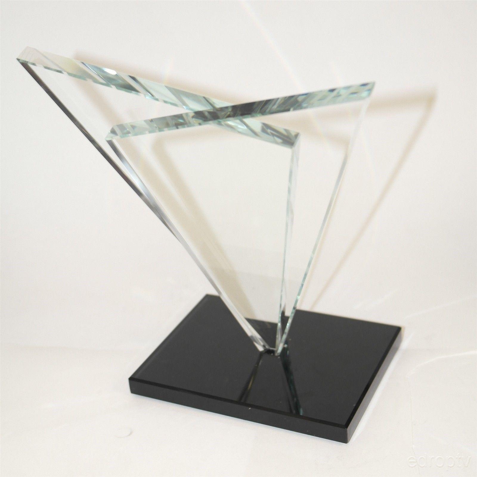 Ostrom Glass Crystal Victory Custom BLANK Trophy 75297 Achievement Award