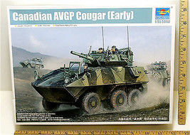 2010 Trumpeter Canadian AVGP Cougar Early Metal Gun 1:35 Plastic Model 01501 NIB - $23.36