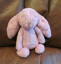 "Jellycat London Dusty Rose Pink Lovey Small Bunny Suitable from Birth 8"" SOFT! - $13.85"