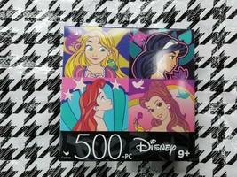 Disney Princess 500 Piece Small Puzzle - Rapunzel Jasmine Ariel Belle (Cardinal)