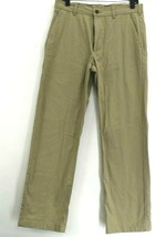 George Men's 32 x 32 Flat Front Hemmed Button Front Casual Wear Chino Pants - $14.99