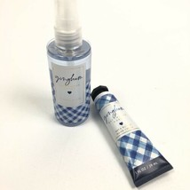 Bath And Body Works Gingham Shea Butter Hand Cream Lotion & Fragrance Mist - $14.84