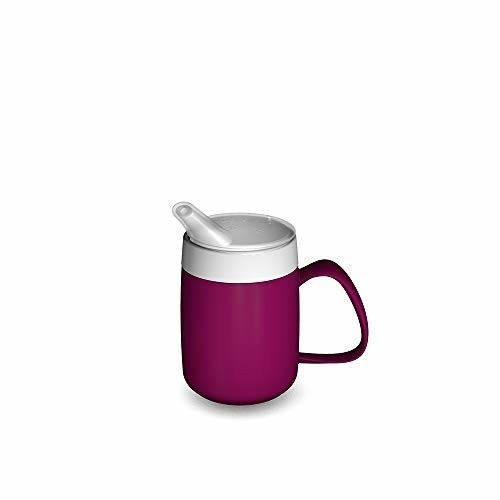 Drinking Aid Mobility Disability Elderly Parkinsons Non Spill Mug Cup Beaker NEW - $11.99