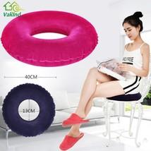 Round Inflatable Seat Cushion Pillow Sitting Donut Massage Pillow Cushio... - $14.99