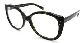 Gucci Eyeglasses Frames GG0474O 002 54-18-145 Havana Made in Italy - $245.00