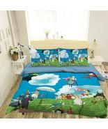 3D Spirited Away P90 Japan Anime Bed Pillowcases Quilt Duvet Cover Acmy - $53.81+