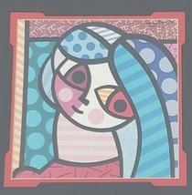 Framed Romero Britto - FRANCES - Cubism Pop Art Print Miami, Florida BRA... - $105.05
