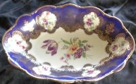 Antique Zeh Scherzer Oval China Dish - Bavaria Germany - VGC -GREAT OLD ... - $39.59